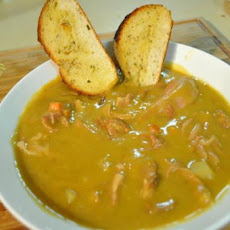 Slow Cooker Split-Pea Soup