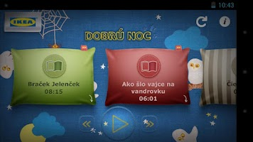 Screenshot of IKEA Dobrú Noc