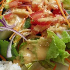 Japanese Steakhouse Ginger Salad Dressing CopyCat Shogun Steak