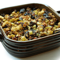 Prune and Apple Stuffing with Sausage Recipe