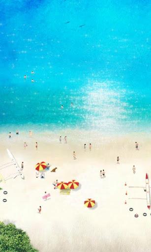 Beach Time ライブ壁紙