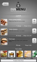 Screenshot of Innmenu free - restaurant menu