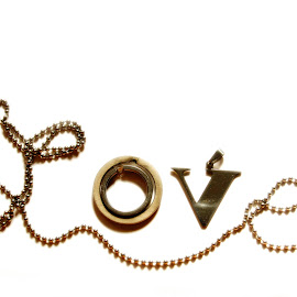LOVE by Marcus Mendoza - Artistic Objects Jewelry ( love, graphic, font, art, jewelry )