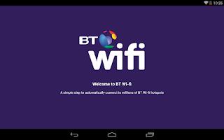 Screenshot of BT Wi-fi