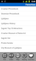 Screenshot of Croatia & Slovenia - Guide