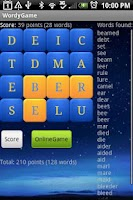 Screenshot of Wordy Game