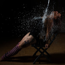 Splash by Richard Scrimshaw - People Body Art/Tattoos ( water, splash, tattoo, dance )