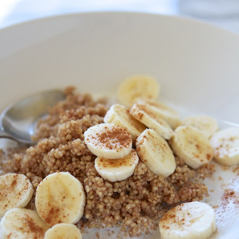Microwave Cinnamon Maple Breakfast Quinoa