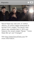 Screenshot of Rascal Flatts