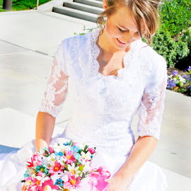 by Shelly Hendricks - Wedding Bride