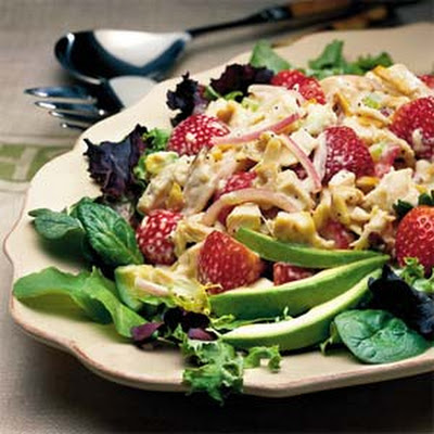 Chicken-and-Strawberry Salad