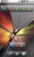 Screenshot of Toggle Widgets Panel