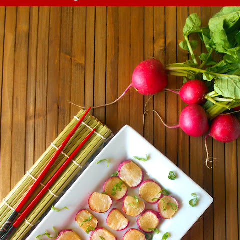 Asian Style Buttered Radishes