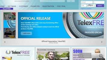 Screenshot of TelexFree