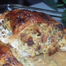 Easy Cheesy Stuffed Chicken
