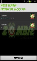 Screenshot of Zombie Alarm Clock