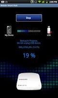 Screenshot of Mobile SmartHub