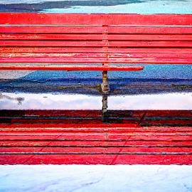 bench by Carlos Pereira - City,  Street & Park  Street Scenes
