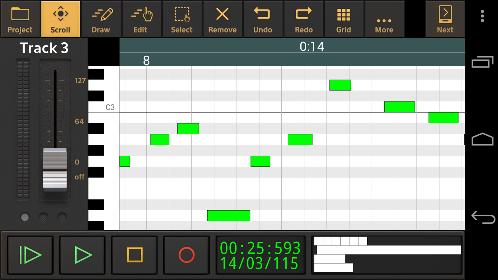 Audio Evolution Mobile Studio Screenshot 5