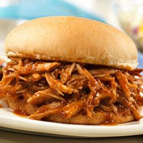 Campbell's® Slow-Cooked Pulled Pork Sandwiches Recept | Yummly