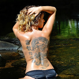 by Jonathan Route - People Body Art/Tattoos