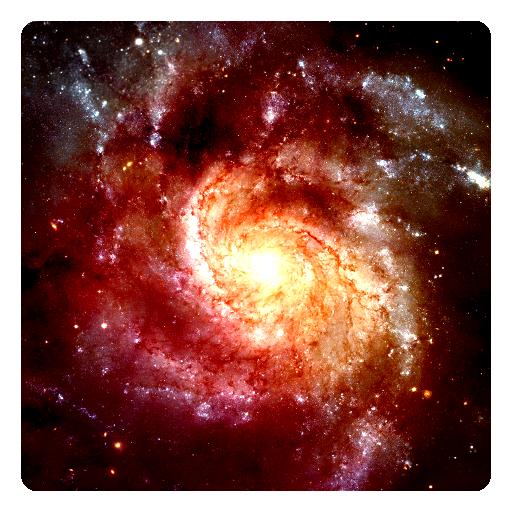 个人化の宇宙の銀河の3Dライブ壁紙 LOGO-記事Game
