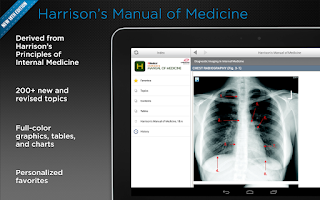 Screenshot of Harrison's Manual of Medicine