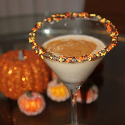 OMG Awesome Pumpkin Pie Milkshake