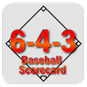 6-4-3 Baseball Scorecard icon