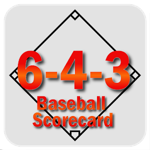 6-4-3 Baseball Scorecard For PC