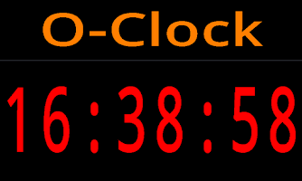 Screenshot of O-Clock