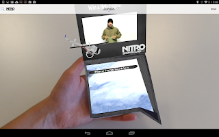 Screenshot of Junaio Augmented Reality