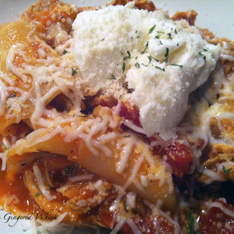 Stovetop Chicken Lasagna Stew