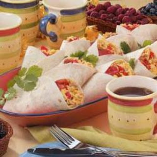 Sausage Breakfast Wraps