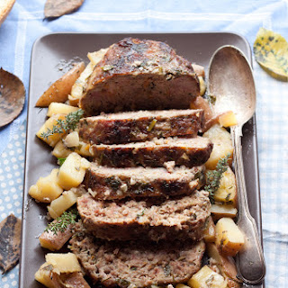 Tuscan peasant cooking Meatloaf