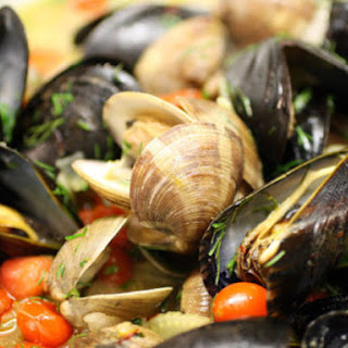 Marseilles-Style Spicy Clams and Mussels