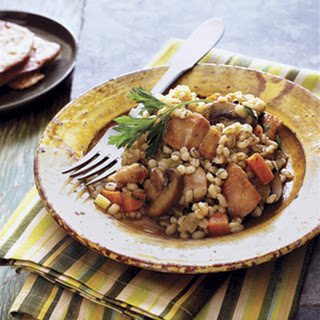 Toasted Barley and Chicken Pilaf
