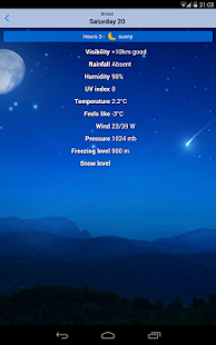 the Weather+ Screenshot