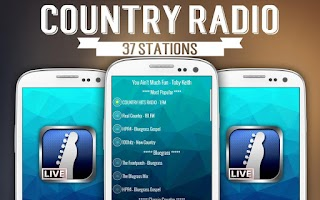 Screenshot of Country Radio