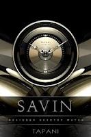 Screenshot of Savin Designer Clock Widget