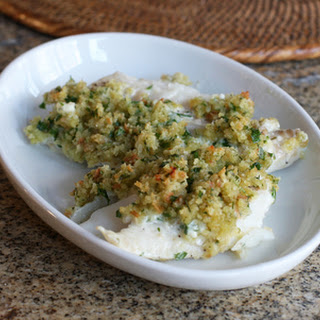 Baked Haddock With Parmesan and Herb Stuffing