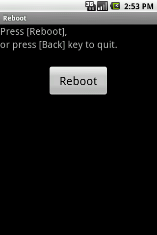 Real Reboot