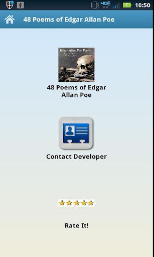 48 Poems of Edgar Allan Poe