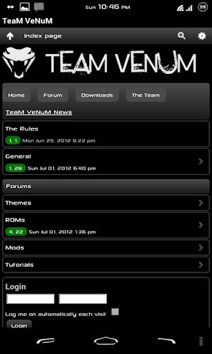 【免費社交App】TeaM VeNuM-APP點子