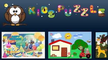 Screenshot of Kids' Puzzle