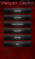 Screenshot of Quiz: Vampire Diaries