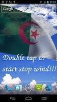 Screenshot of 3D Algeria Flag Live Wallpaper