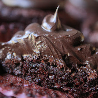 Brownie Batter Chocolate Fudge Cupcakes