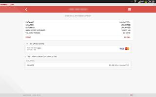 Screenshot of MyMagti