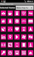 Screenshot of MetroPoly MAGENTA (Go Theme)